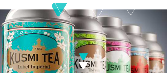 KUSMI TEA affida la sua logistica e-commerce a Staci